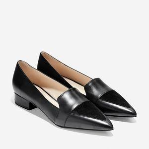 NIB Cole Haan Marlee Skimmer Flats Black Size 6.5